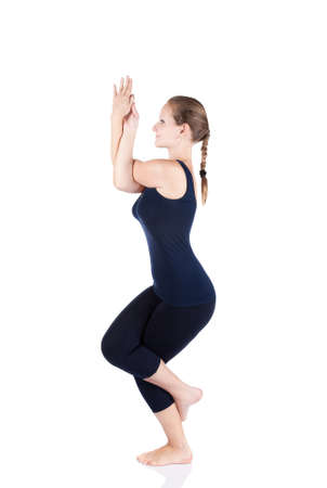 Garuda Asana-The Eagle Pose