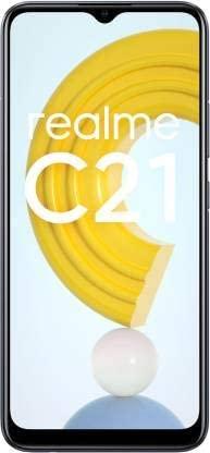 realme C21 (32 GB) (3 GB RAM) (Cross Black)